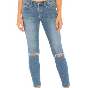 NWT Current/Elliott The Ankle Skinny Cheville